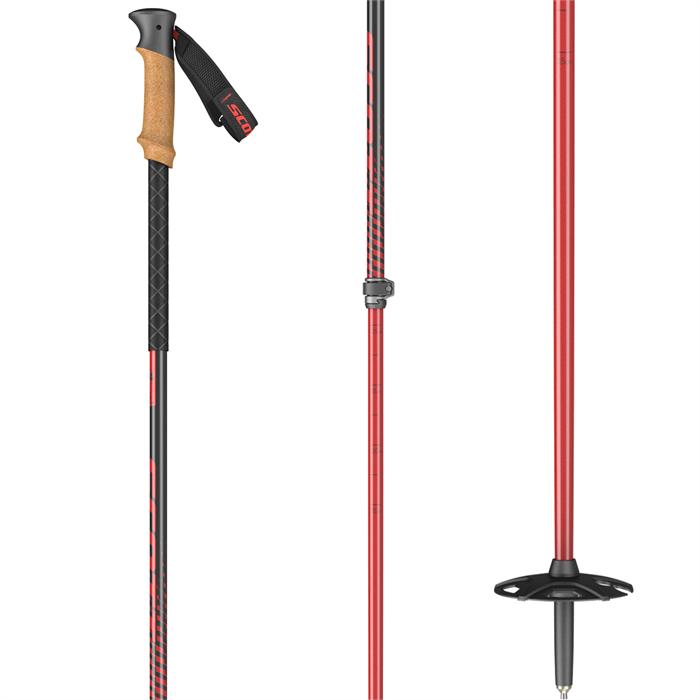 Scott - Proguide SRS Adjustable Ski Poles 2022