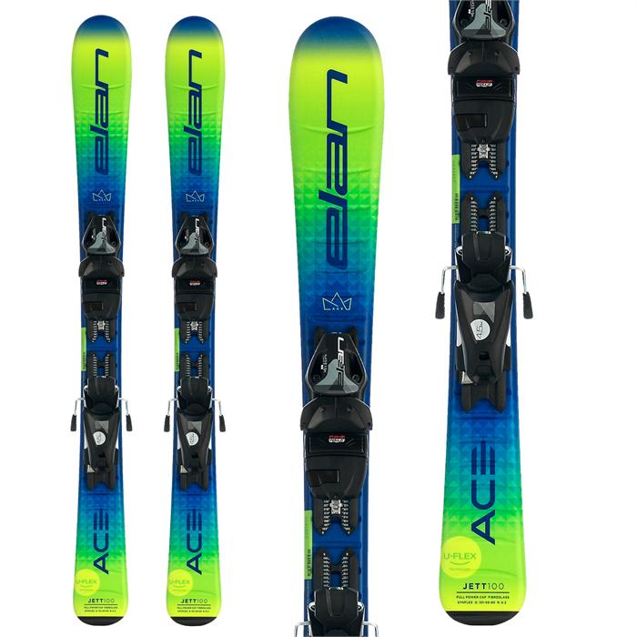 Elan - Jett QS Skis + EL 4.5 GW Shift Bindings - Little Boys' 2022