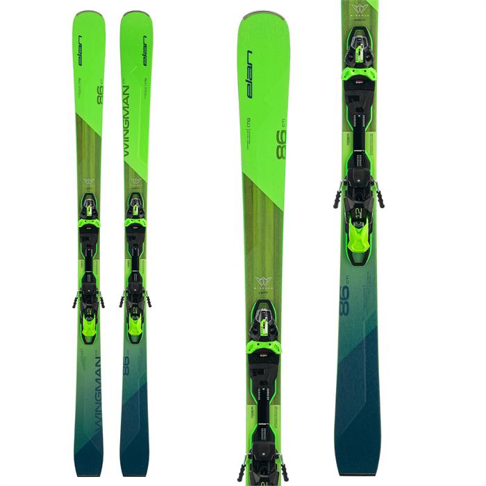 Elan - Wingman 86 CTi Skis + FX EMX 12.0 GW Bindings 2022