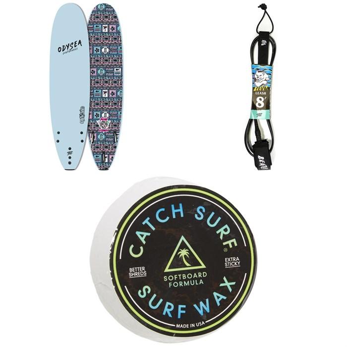 """Catch Surf - Odysea 8'0"""" Log x Jamie O'Brien Surfboard + Catch Surf Beater 8' Leash + Catch Surf Surf Wax"""