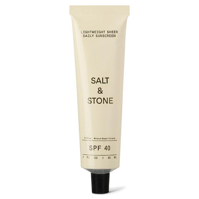 Salt & Stone - SPF 40 Lightweight Sheer Daily Sunscreen Lotion