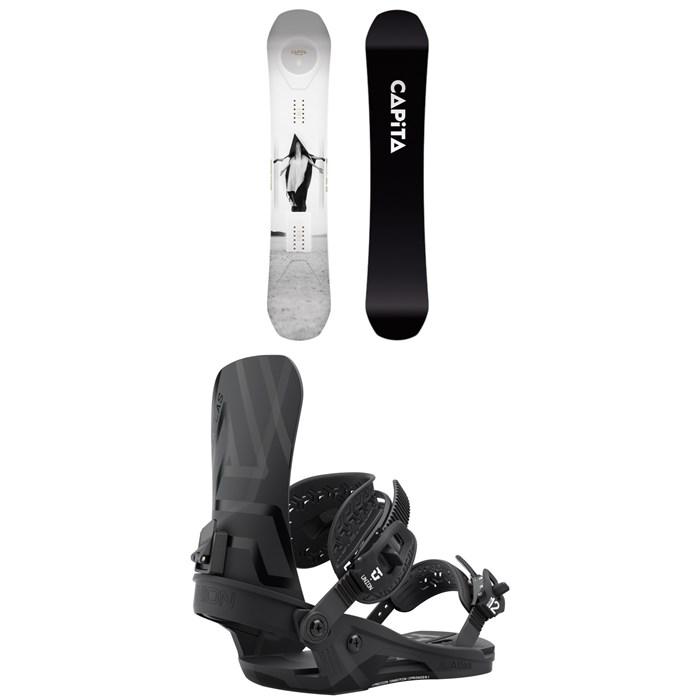 CAPiTA - Super DOA Snowboard + Union Atlas Snowboard Bindings 2022