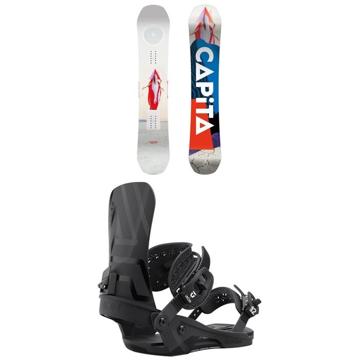 CAPiTA - Defenders of Awesome Snowboard + Union Atlas Snowboard Bindings 2022