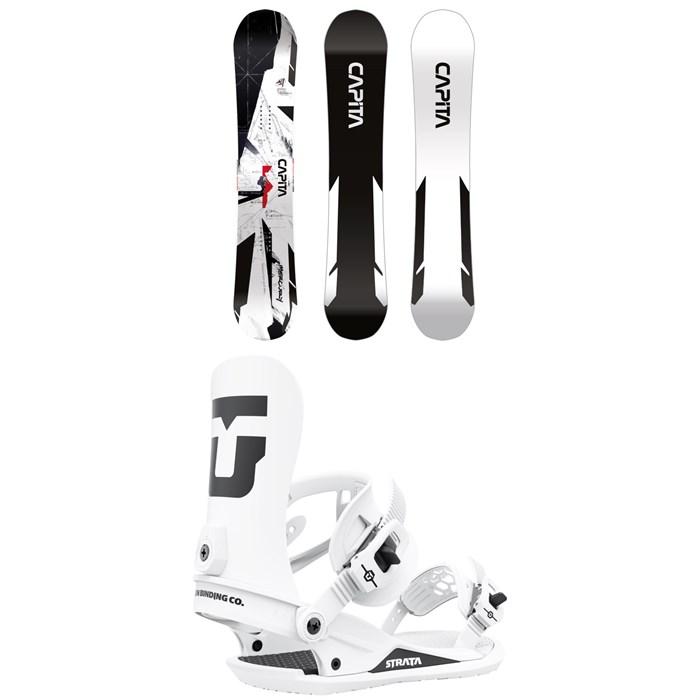 CAPiTA - Mercury Snowboard + Union Strata Snowboard Bindings 2022