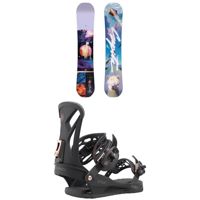 CAPiTA - Space Metal Fantasy Snowboard + Union Juliet Snowboard Bindings - Women's 2022