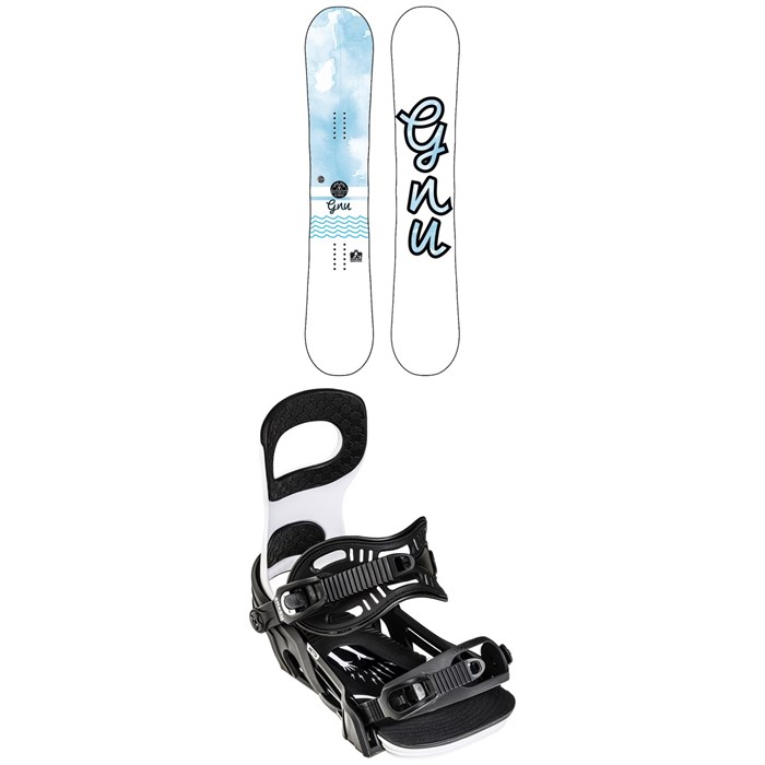 GNU - B-Nice BTX Snowboard + Bent Metal Metta Snowboard Bindings - Women's 2022