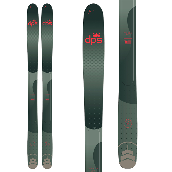 DPS - Pagoda Tour 100 RP Midnight Rider Special Edition Skis 2022