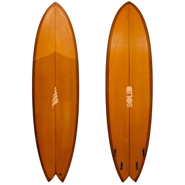 Solid Surf Co - Pescador PU FCSII Surfboard