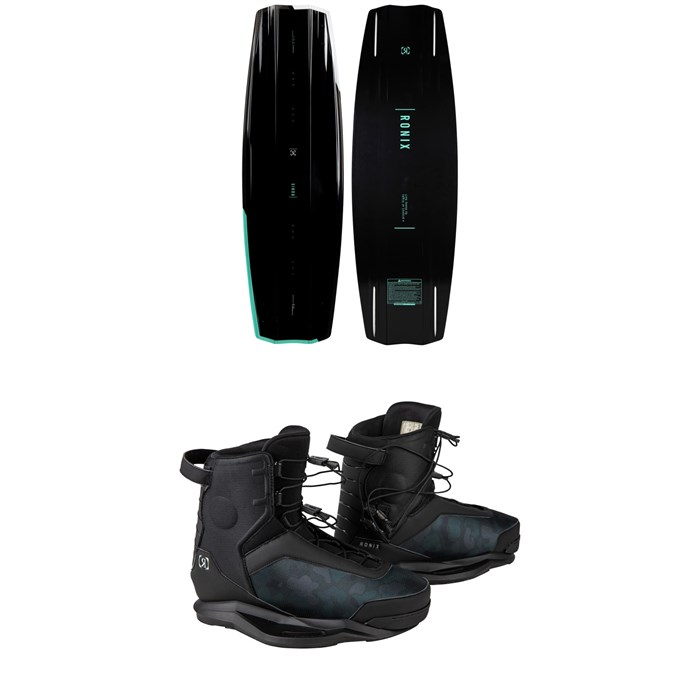 Ronix - One Time Bomb + Parks Wakeboard Package 2021