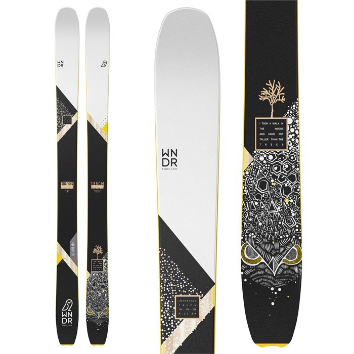 WNDR Alpine - Intention 110 Reverse Camber Skis 2022