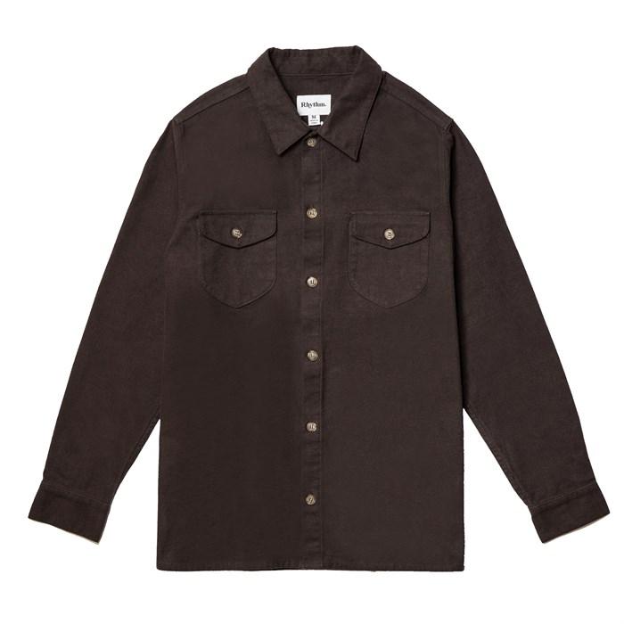 Rhythm - Moleskin Long-Sleeve Shirt