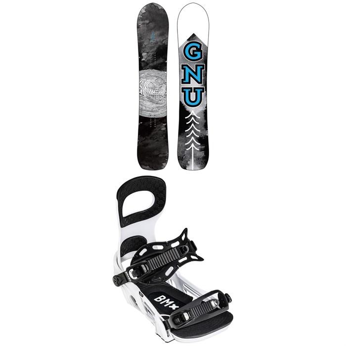 GNU - Antigravity C3 Snowboard 2022 + Bent Metal Bolt Snowboard Bindings 2022