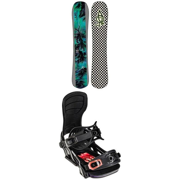 Lib Tech - Magic BM C2 Snowboard 2022 + Bent Metal Transfer Snowboard Bindings 2022