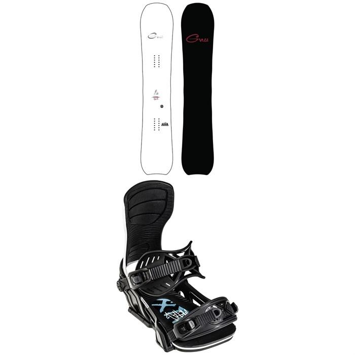 GNU - Hyperkyarve C2X Snowboard 2022 + Bent Metal Transfer Snowboard Bindings 2022