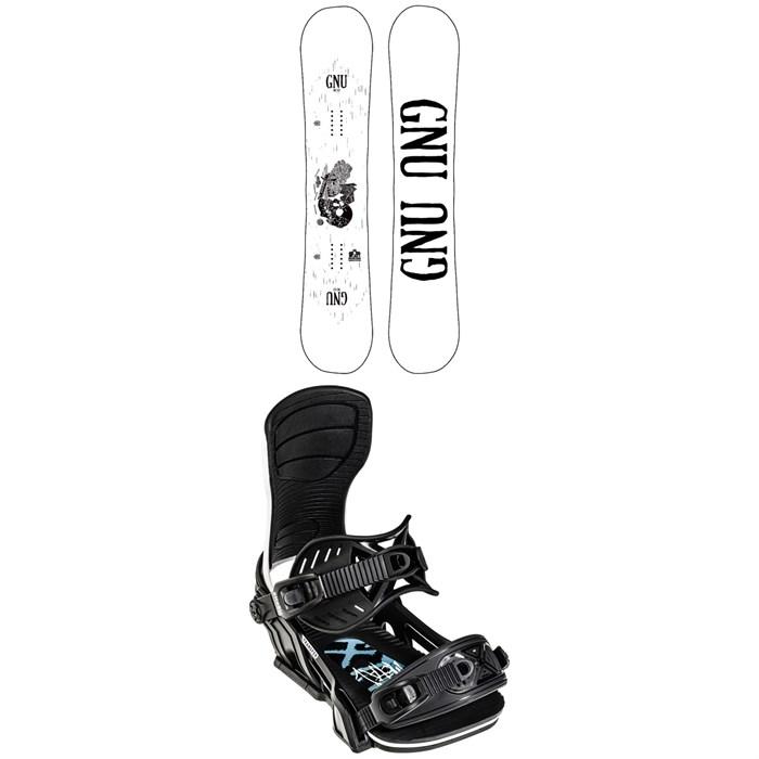 GNU - Riders Choice Asym C3 Snowboard 2022 + Bent Metal Transfer Snowboard Bindings 2022