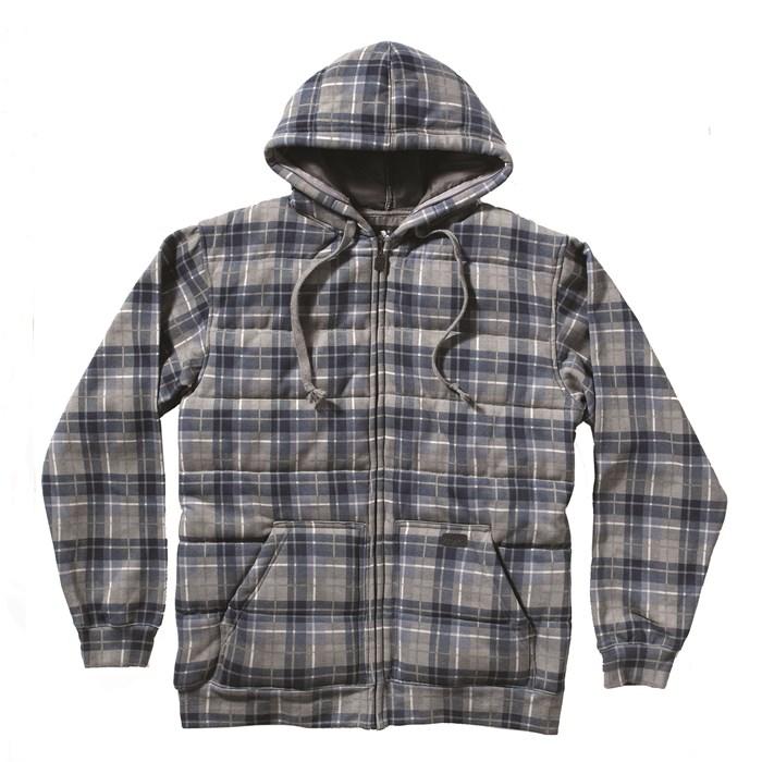 Matix asher spital plaid zip hoodie evo outlet - Hooi plaid ...