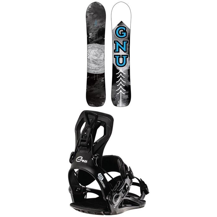 GNU - Antigravity C3 Snowboard 2022 + GNU Cheeter Snowboard Bindings 2022