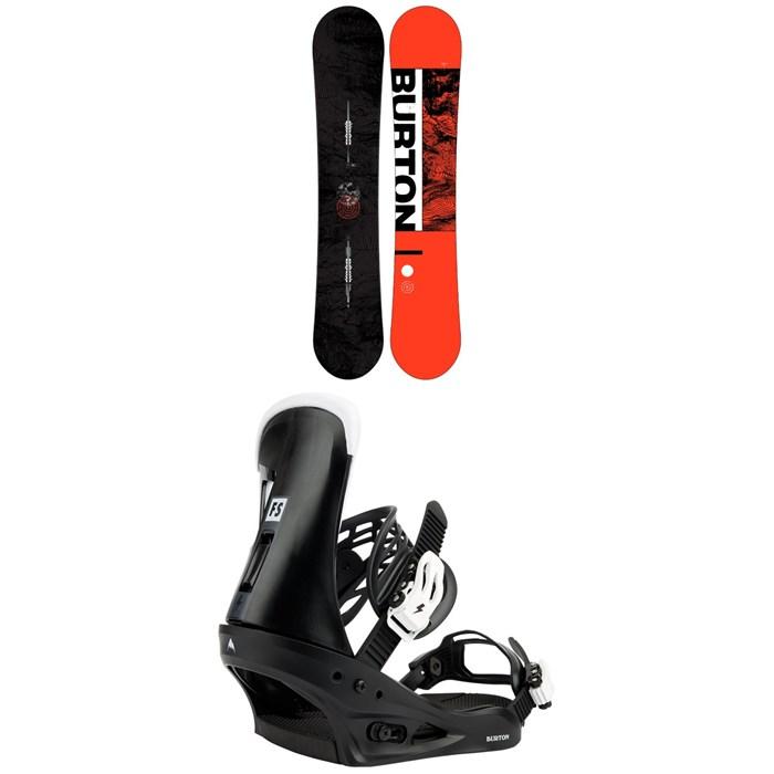 Burton - Ripcord Snowboard + Freestyle Snowboard Bindings 2022