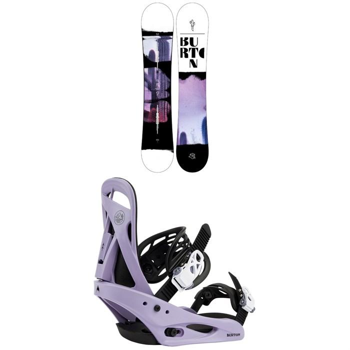 Burton - Stylus Snowboard + Citizen Snowboard Bindings - Women's 2022