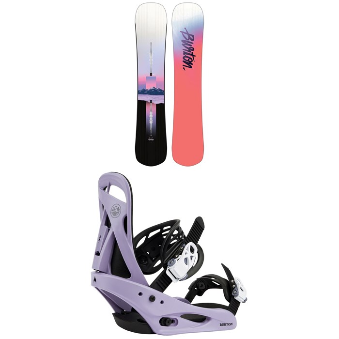 Burton - Hideaway Snowboard + Citizen Snowboard Bindings - Women's 2022