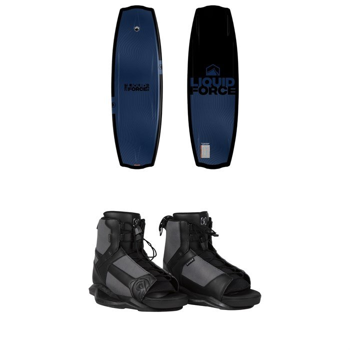 Liquid Force - Trip + Ronix Divide Wakeboard Package