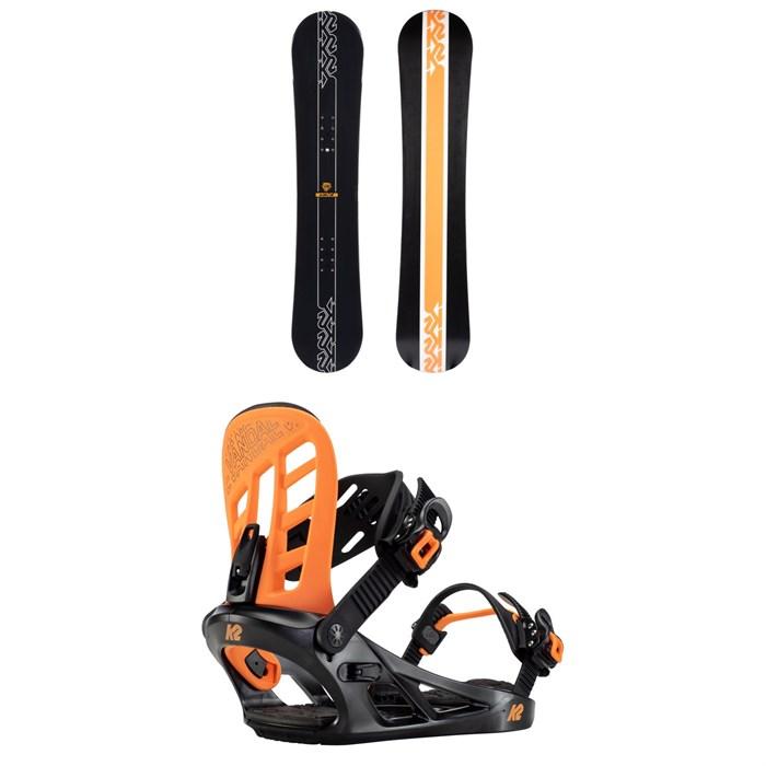 K2 - Vandal Snowboard + Vandal Snowboard Bindings - Boys' 2022