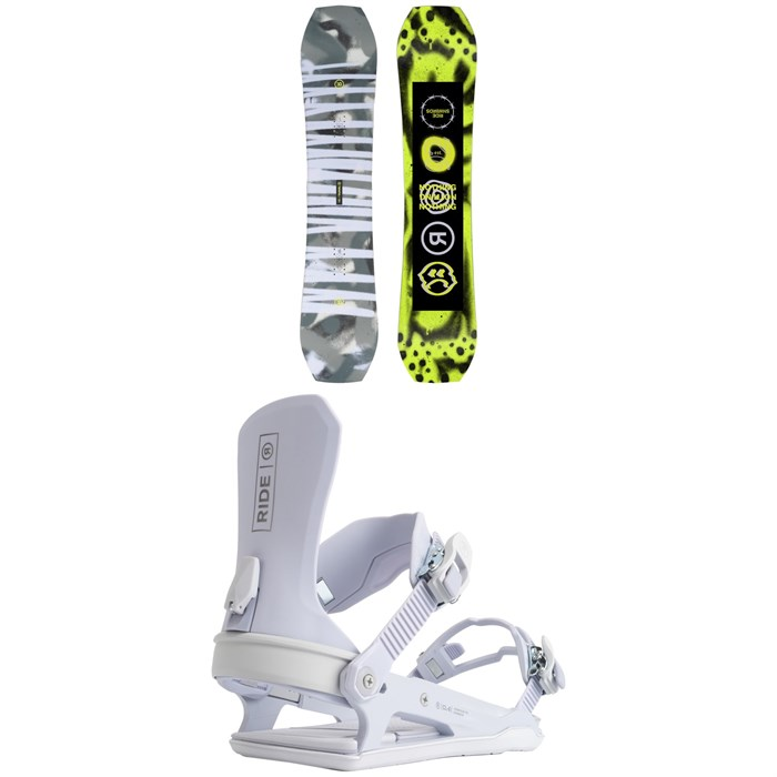 Ride - Twinpig Snowboard + CL-6 Snowboard Bindings - Women's 2022