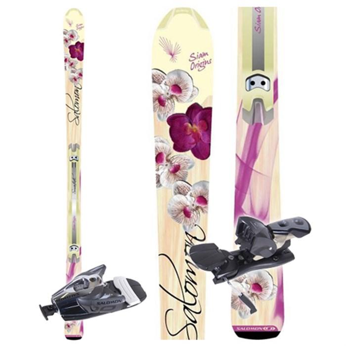 Salomon Origins skis + Z10 Ti Bindings Women's 2009   evo
