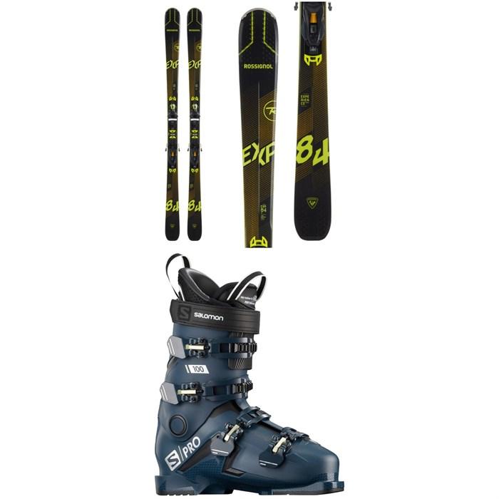 Rossignol - Experience 84 Ai Skis + NX 12 Konect GW Bindings + Salomon S/Pro 100 Ski Boots 2021
