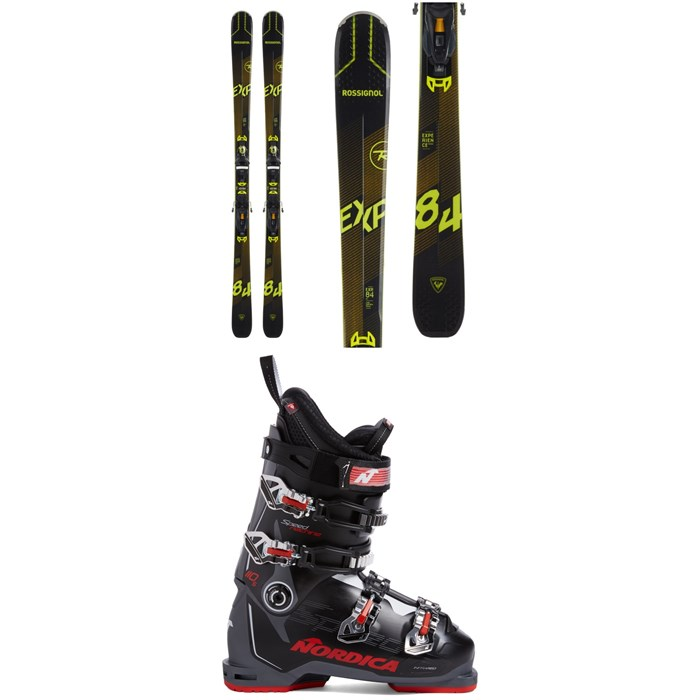 Rossignol - Experience 84 Ai Skis + NX 12 Konect GW Bindings + Nordica Speedmachine 110 S Ski Boots 2021