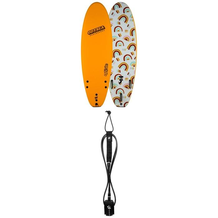 "Catch Surf - Odysea 6'0"" Log x Taj Burrow Surfboard + Creatures of Leisure Icon 6' Surf Leash"