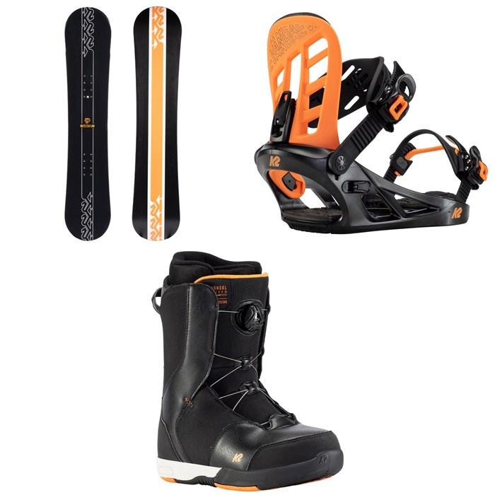 K2 - Vandal Snowboard + Vandal Snowboard Bindings + Vandal Snowboard Boots - Boys' 2022