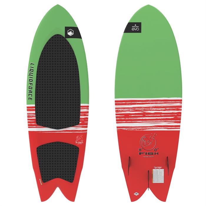 Liquid Force - LTD Fish Wakesurf Board with Surf Rope 2021