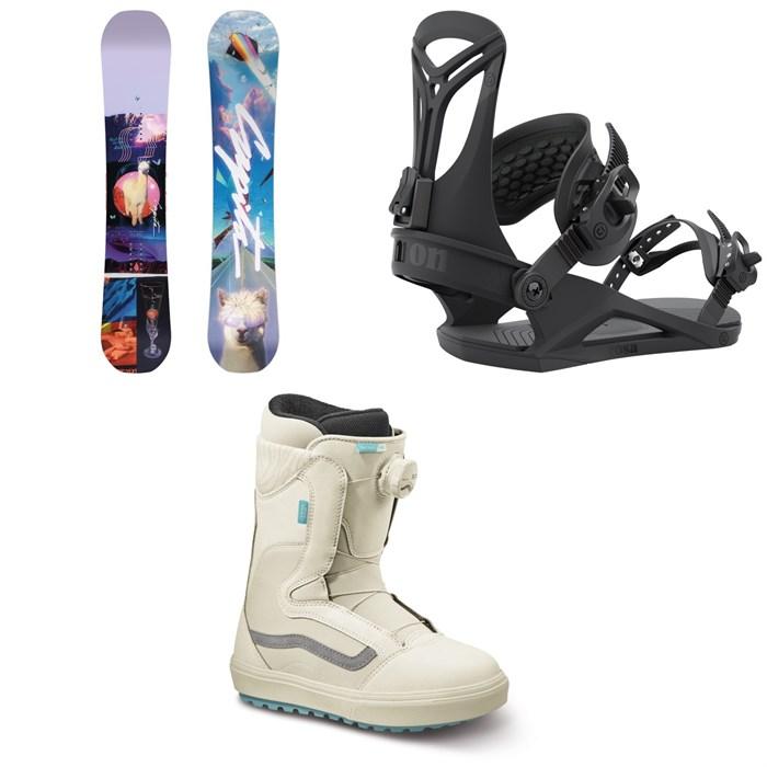 CAPiTA - Space Metal Fantasy Snowboard + Union Rosa Snowboard Bindings + Vans Encore OG Snowboard Boots - Women's 2022