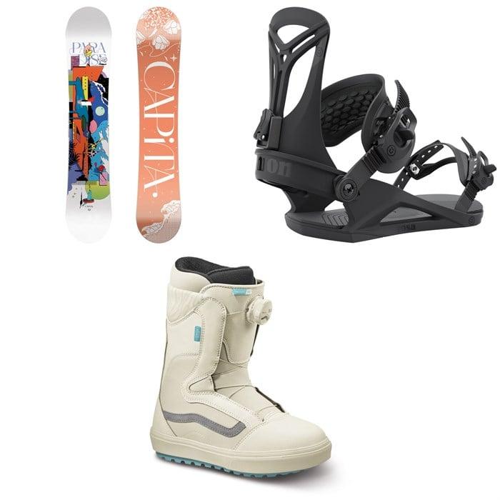 CAPiTA - Paradise Snowboard + Union Rosa Snowboard Bindings + Vans Encore OG Snowboard Boots - Women's 2022