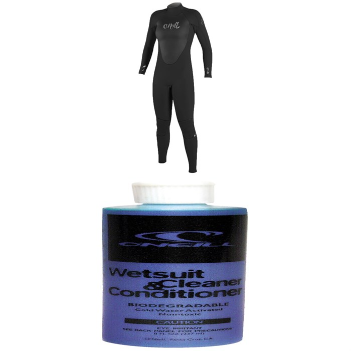 O'Neill - 3/2 Epic Back Zip Wetsuit - Women's + Wetsuit Cleaner