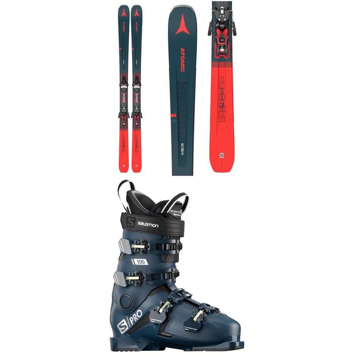Atomic - Vantage 79 Ti Skis + F 12 GW Bindings + Salomon S/Pro 100 Ski Boots 2021