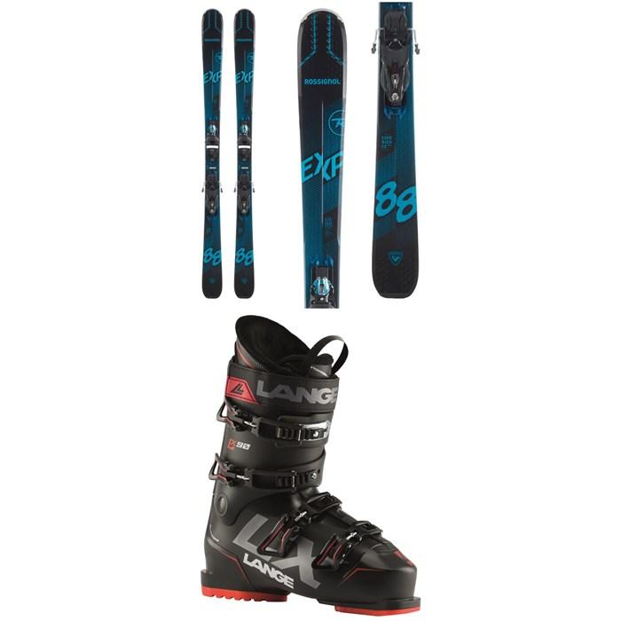 Rossignol - Experience 88 Ti Skis + SPX 12 Konect GW Bindings + Lange LX 90 Ski Boots 2021