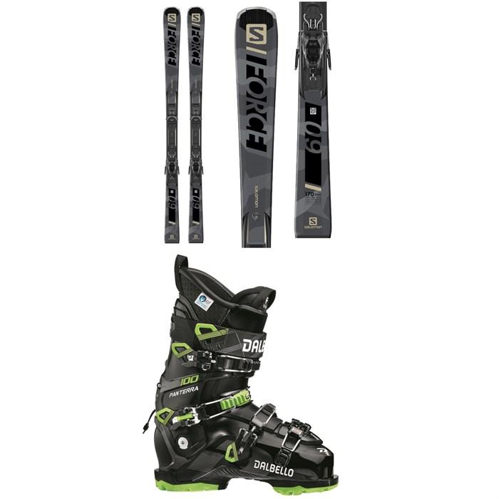 Salomon - S/Force 9 Skis + M11 GW Bindings + Dalbello Panterra 100 GW Ski Boots 2021