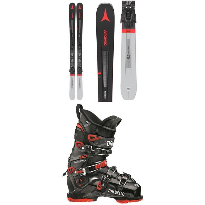 Atomic - Vantage 75 C Skis + M 10 GW Bindings 2022 + Dalbello Panterra 90 GW Ski Boots 2021