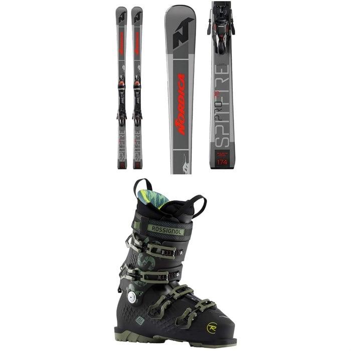 Nordica - Dobermann Spitfire Pro 76 Skis + TPX 12 FDT Ski Bindings + Rossignol Alltrack 120 Ski Boots 2021