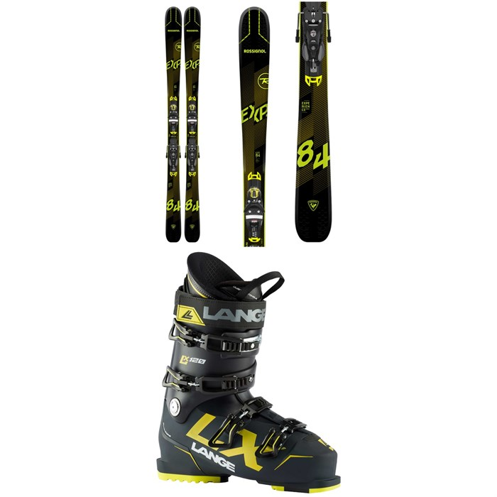 Rossignol - Experience 84 Ai Skis + SPX 12 Konect GW Bindings + Lange LX 120 Ski Boots 2021