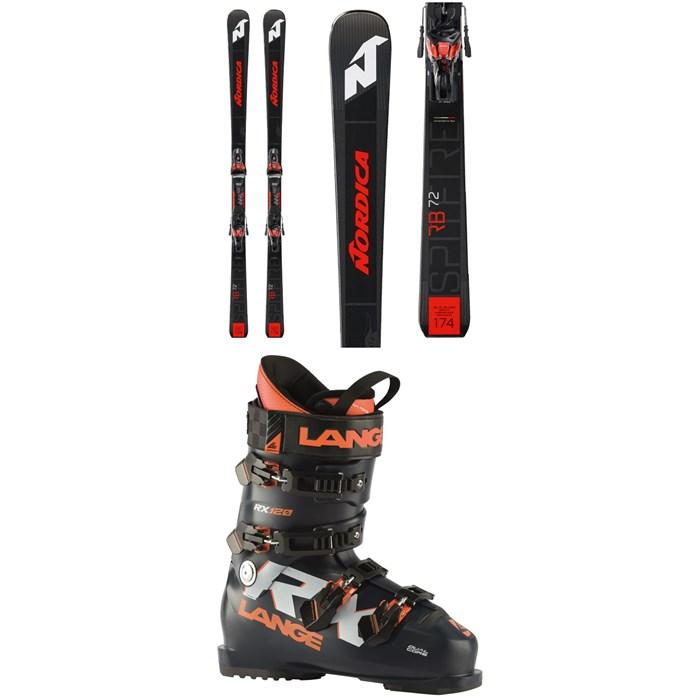 Nordica - Dobermann Spitfire 76 RB Skis + X-Cell 12 FDT Ski Bindings 2021 + Lange RX 120 Ski Boots 2021