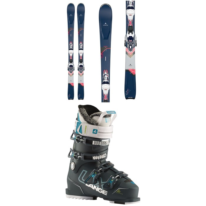 Dynastar - Intense 4X4 82 Skis + Xpress 11 GW Bindings + Lange LX 90 W Ski Boots - Women's 2021