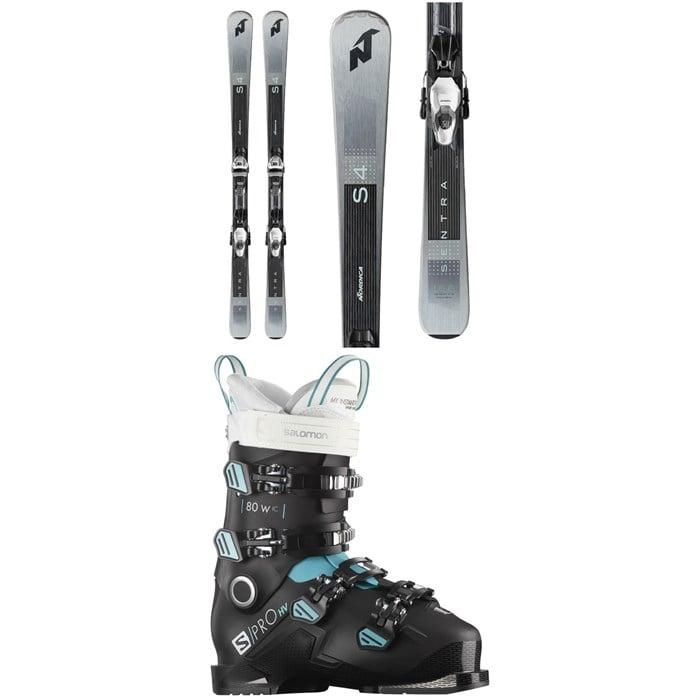 Nordica - Sentra S 4 R Skis + TP2 Compact 10 FDT Bindings + Salomon S/Pro HV 80 W IC Ski Boots - Women's 2021