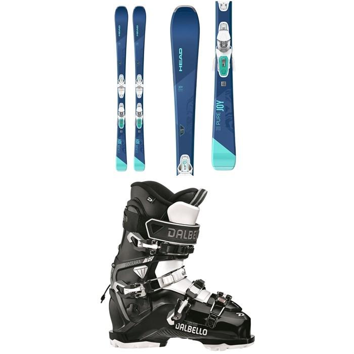 Head - Pure Joy Skis + Joy 9 GW SLR Bindings + Dalbello Panterra 75 W GW Ski Boots - Women's 2021