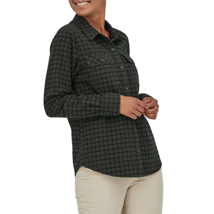 Patagonia - Long-Sleeve Organic Midweight Fjord Flannel Shirt - Women's