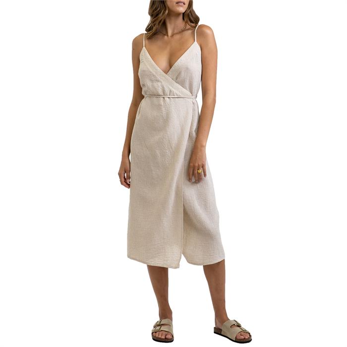 Rhythm - Eve Wrap Slip Dress - Women's
