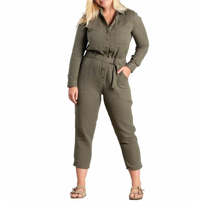Toad & Co - Tamarac Long-Sleeve Jumpsuit - Women's