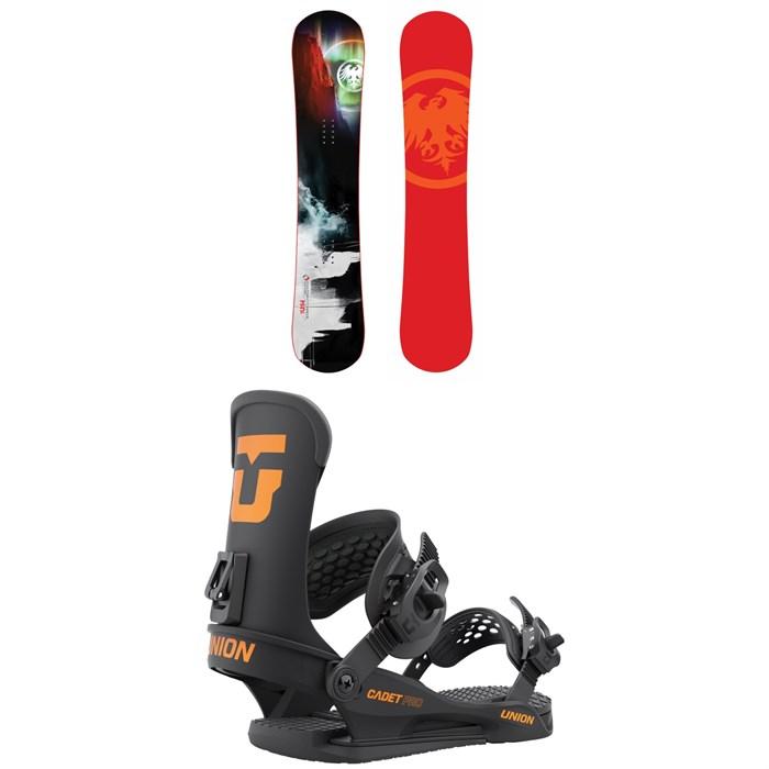 Never Summer - Mini Proto Snowboard + Union Cadet Pro Snowboard Bindings - Kids' 2022